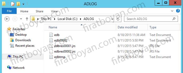 Active Directory kurulumu-firatboyan.com