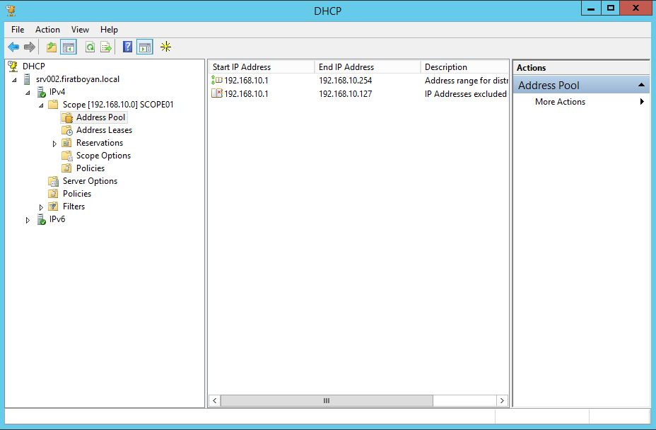 DHCP Server Split Scope