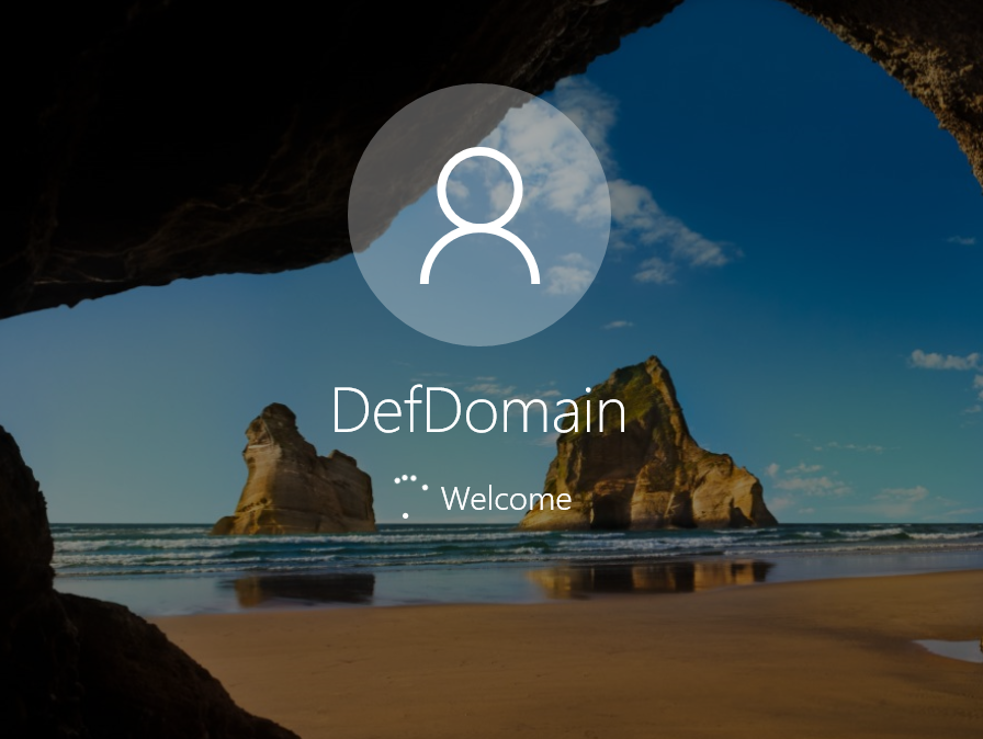 Domain Default Profile