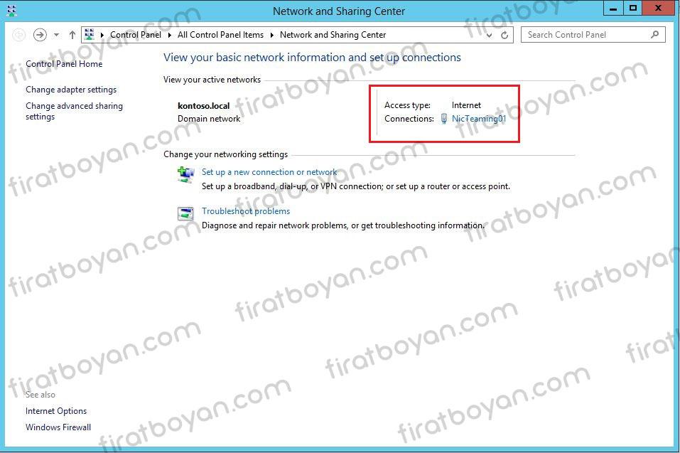 Server 2012 NIC Teaming