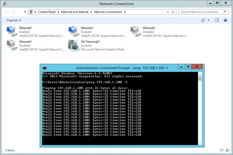 Server 2012 NIC Teaming