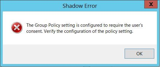 Remote Desktop Shadow-RDP Shadow Hatası ve Çözümü