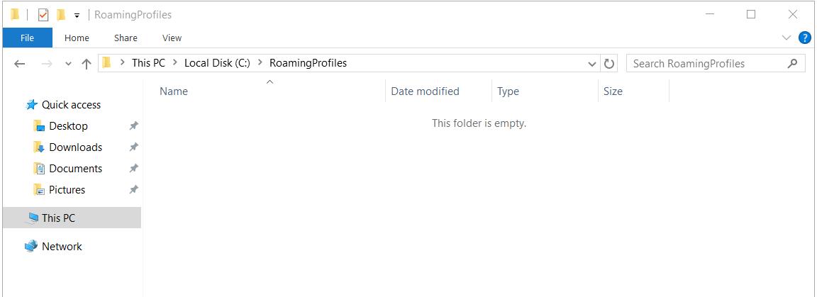 Roaming Profile
