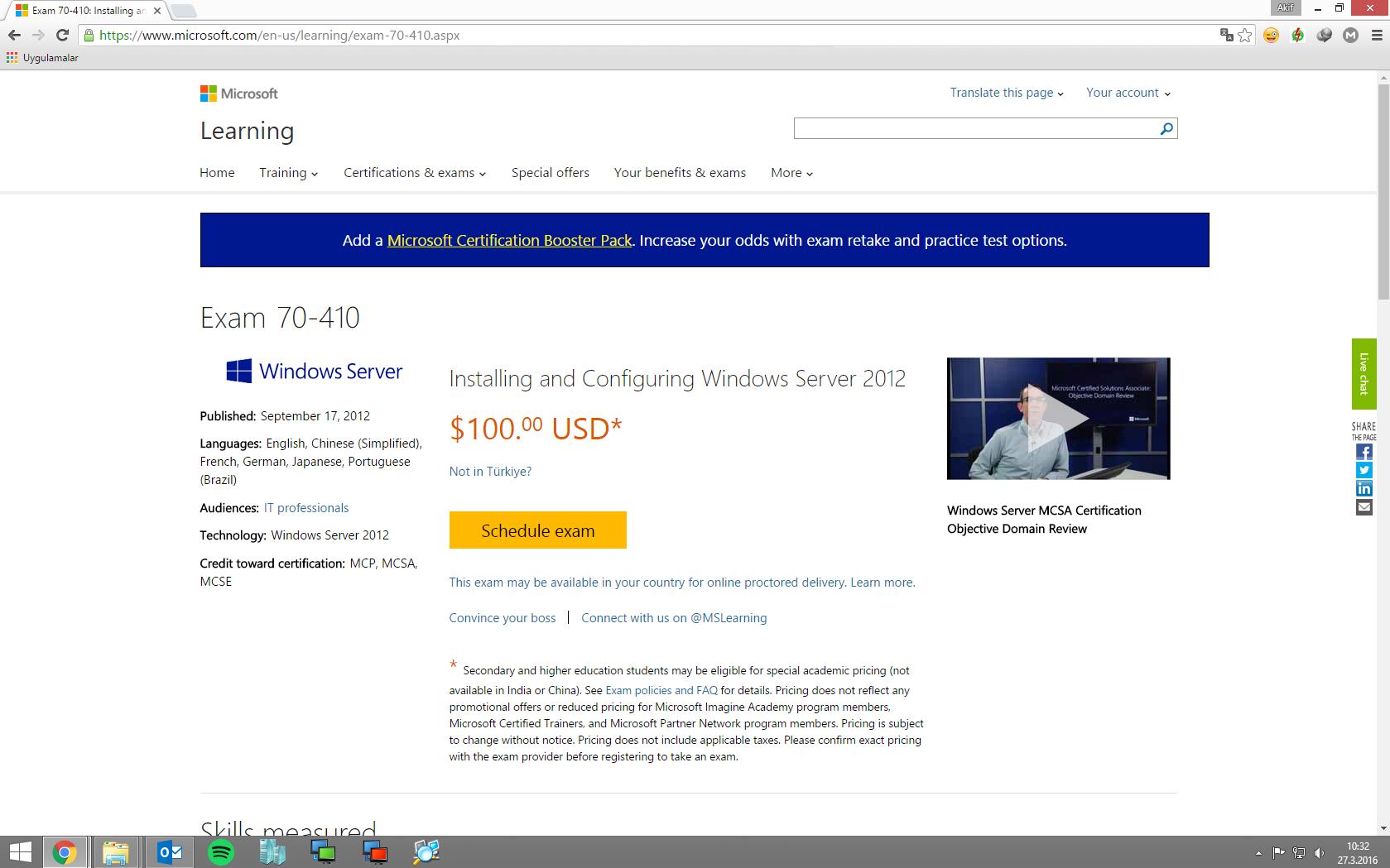 Microsoft Mcse Sınavları