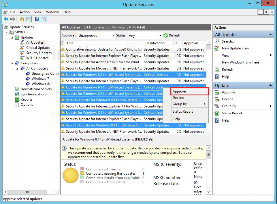 WSUS GPO-Group Policy