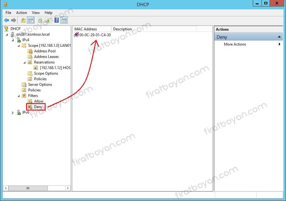 DHCP kurulumu