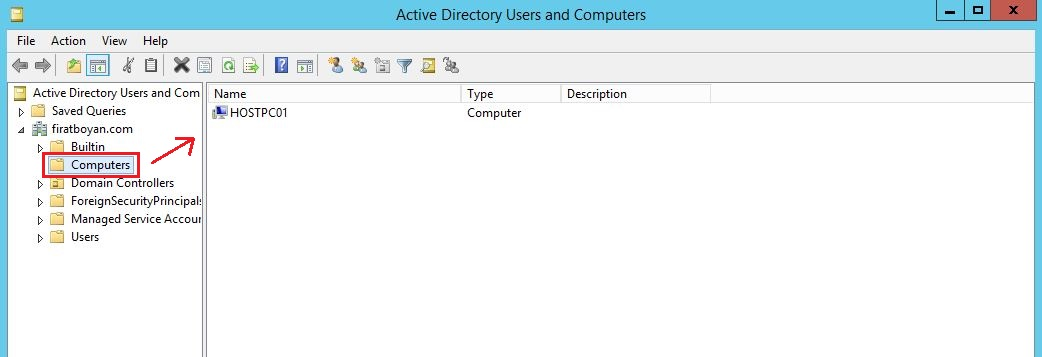 Windows Server 2012 R2 ile Offline Domain Join