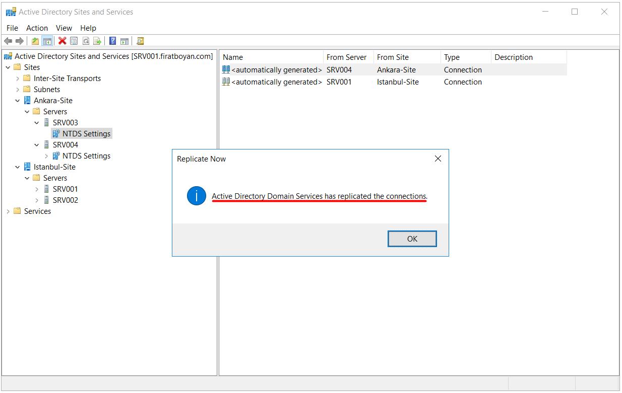 Active Directory Replikasyon