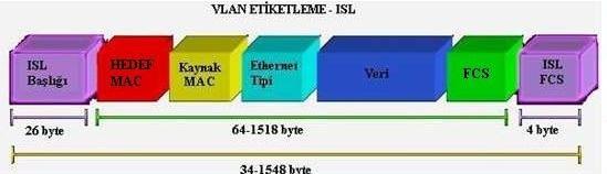 ISL(Inter Switch Link) ve 802.1Q(dot1q) Nedir? Farkları Nelerdir?