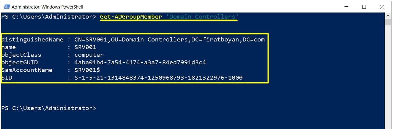 Active Directory 2019 Installation