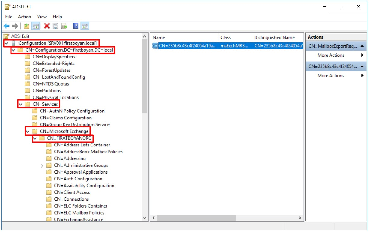 Exchange Server PST Export