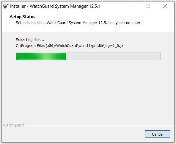WatchGuard System Manager Kurulumu